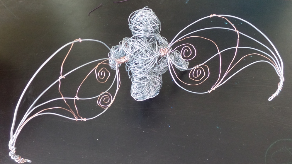 Copper and Steel wings